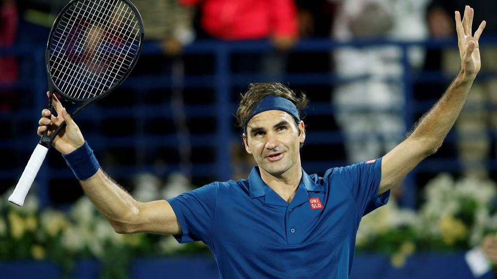 Er hat es geschafft! Roger Federer holt in Dubai den 100. Titel
