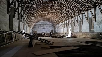 Die Inbetriebnahme der sanierten Alten Reithalle erfolgt frühestens im Mai 2021