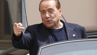 Will weiterhin im Altersheim arbeiten: Silvio Berlusconi.