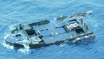 Das Schiffswrack vor der Küste Oregons