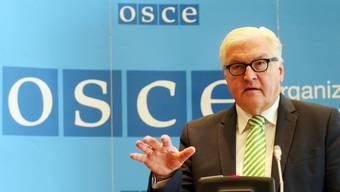 Deutschland übernimmt den OSZE-Vorsitz. Für Aussenminister Steinmeier eine «Zeit der Bewährung».