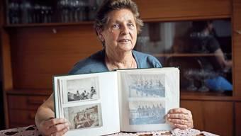 Erika Dörsam, Franz Keisers Nichte, hat noch viele Fotos ihres Onkels.