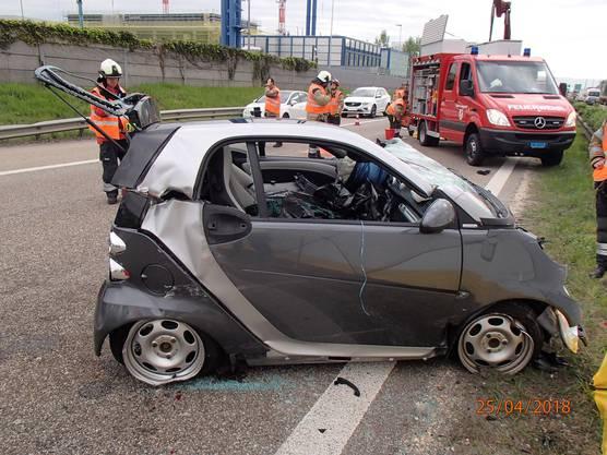 Weitere Bilder von der Unfallstelle.