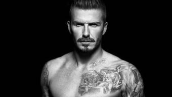 David Beckham posiert in Unterwäsche für H & M
