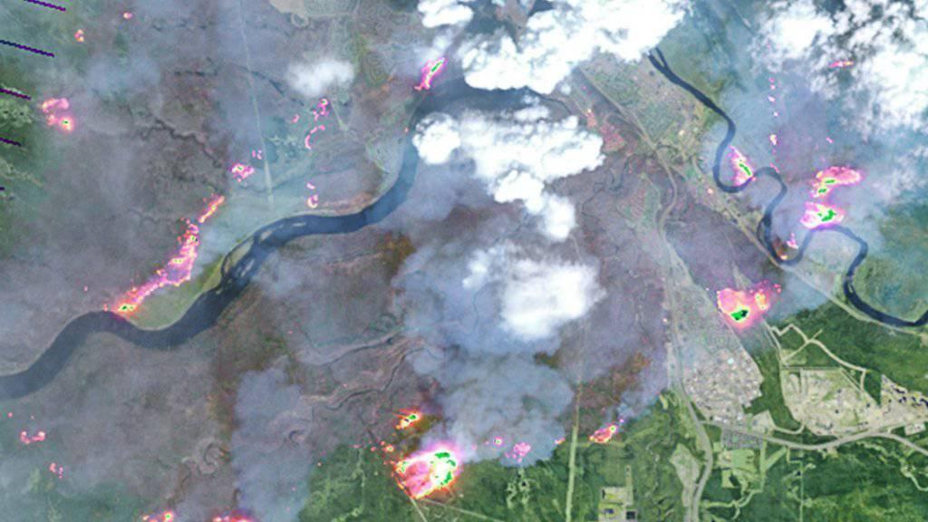Wetterumschwung begünstigt Bekämpfung der Waldbrände in Kanada