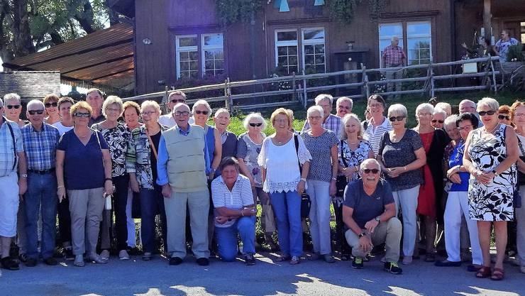 """Das Bild entstand vor dem Erlebnisgasthaus """"Waldegg""""  (Restaurant """"Schnugge-Bock)"""