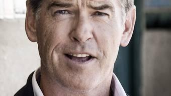 Da schaute Ex-James-Bond-Darsteller Pierce Brosnan woll grimmig aus der Wäsche: An einem kleinen Flughafen in den USA wurde ihm ein Messer im Handgepäck weggenommen. (Archiv)
