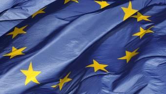 Die Europa-Flagge darf weiterhin in der Bundesgasse in Bern wehen