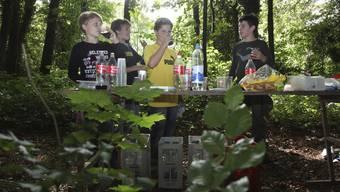 Wald-Putzete der Solothurner Schüler (9. September 2011)