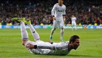 In der zweiten Halbzeit eingewechselt. Er dankte es mit dem Treffer zum 3:0 für Real.