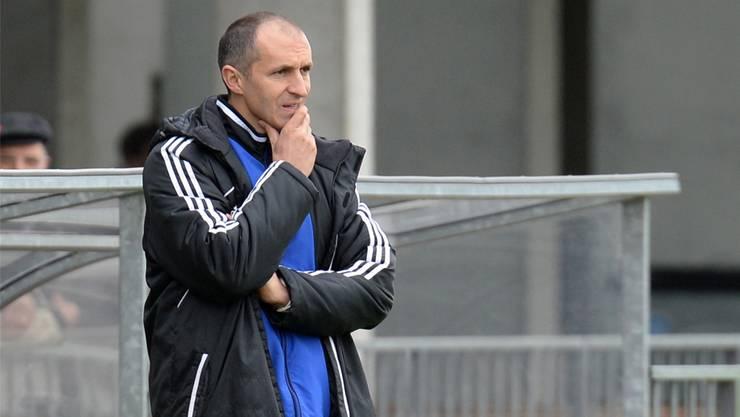 Basels U21-Trainer Thomas Häberli