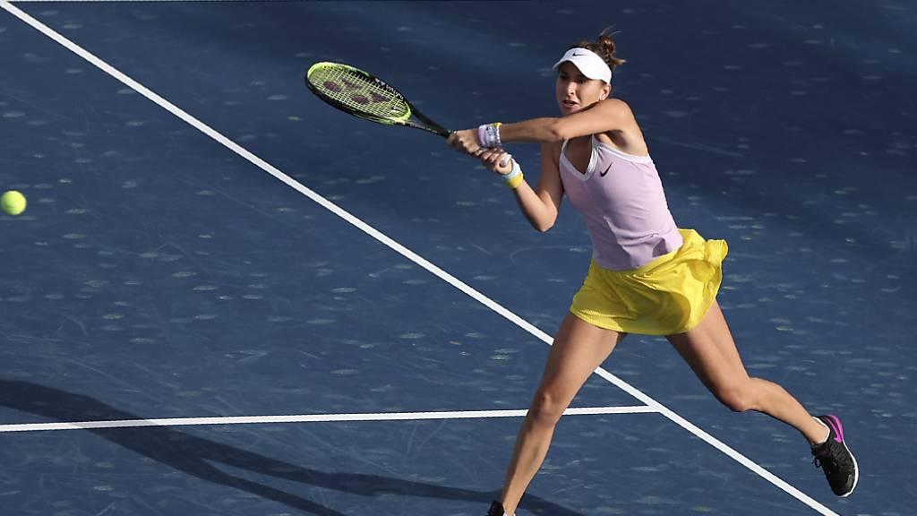 Belinda Bencic findet gegen Kudermetowa auf Umwegen zum Sieg