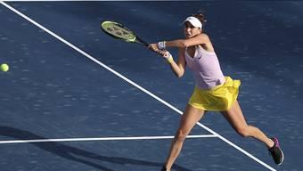 Erster Sieg im dritten Anlauf für Belinda Bencic am WTA-Turnier von Doha, Katar