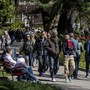 Bild aus vergangenen Zeiten: Der Park Giani in Lugano bleibt bis mindestens Ende Monat geschlossen.