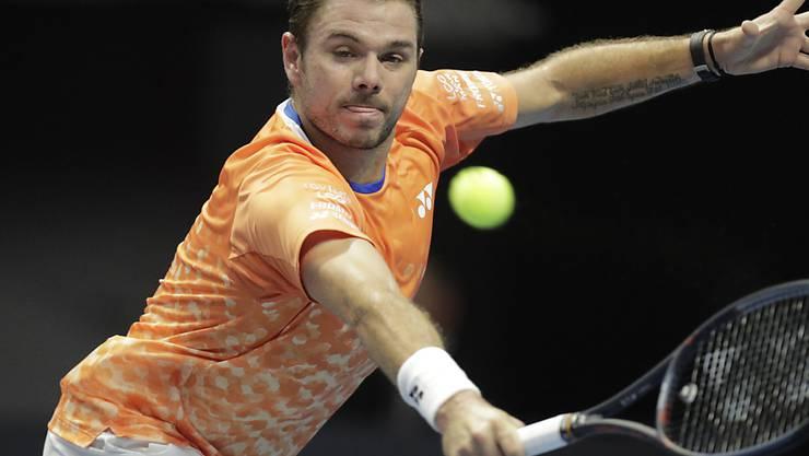 Stan Wawrinka siegt in Doha auch im zweiten Spiel