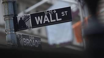 Die Wall Street in New York (Archiv)