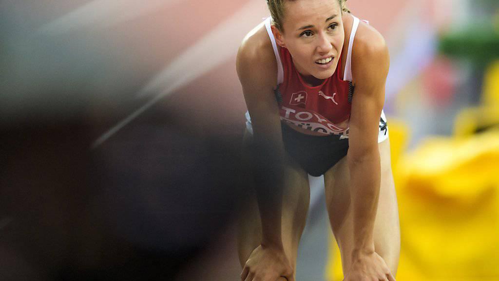 Pech für Selina Büchel: Wegen einer Erkältung kann die Toggenburgerin an der Athletissima nicht teilnehmen