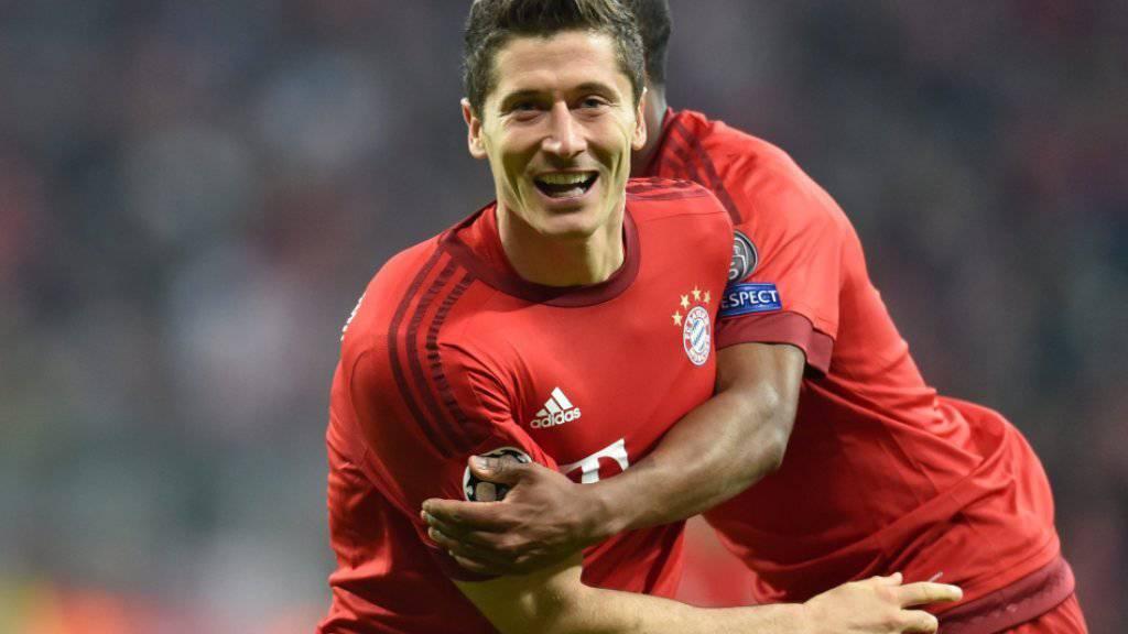 Bayern-Stürmer Robert Lewandowski präsentierte sich zuletzt in absoluter Topform