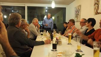 Am Einwohner- forum in Hornussen sind alle Anwesenden gegen eine Aushubdeponie im Dorf.
