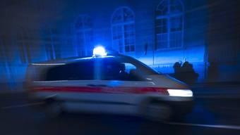 Ein Polizeiauto (Symbolbild)