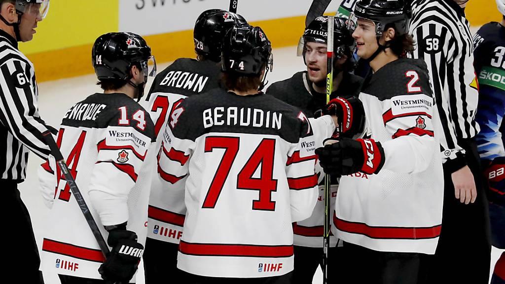 Kanada hat sich gesteigert und steht im WM-Final