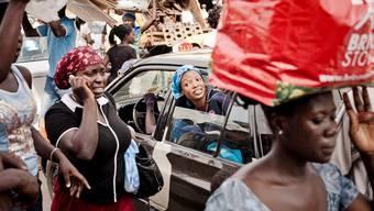 Strassenszene in der ghanaischen Hauptstadt Accra: Die wachsende Mittelschicht Afrikas birgt grosses Potenzial – das will niemand verpassen.