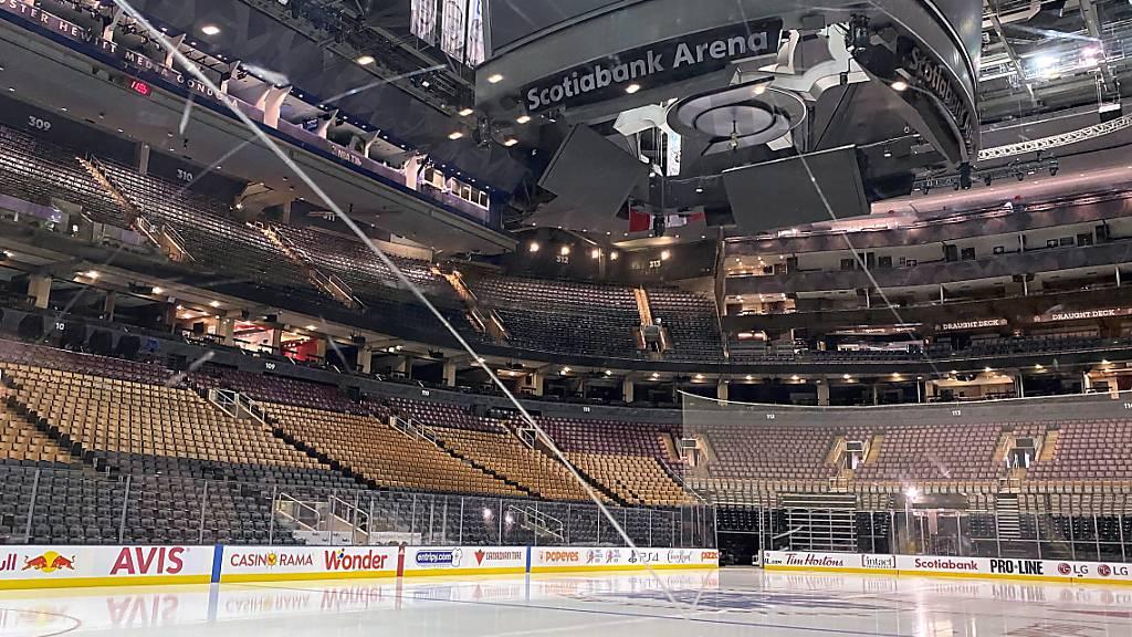 Die Arena der Toronto Maple Leafs bleibt wie die anderen NHL-Stadien bis auf weiteres ohne Spielbetrieb.