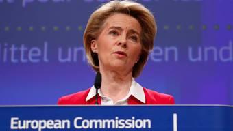 Die EU-Kommission um Präsidentin Ursula von der Leyen dürfte das neue Schweizer Datenschutzgesetz anerkennen.