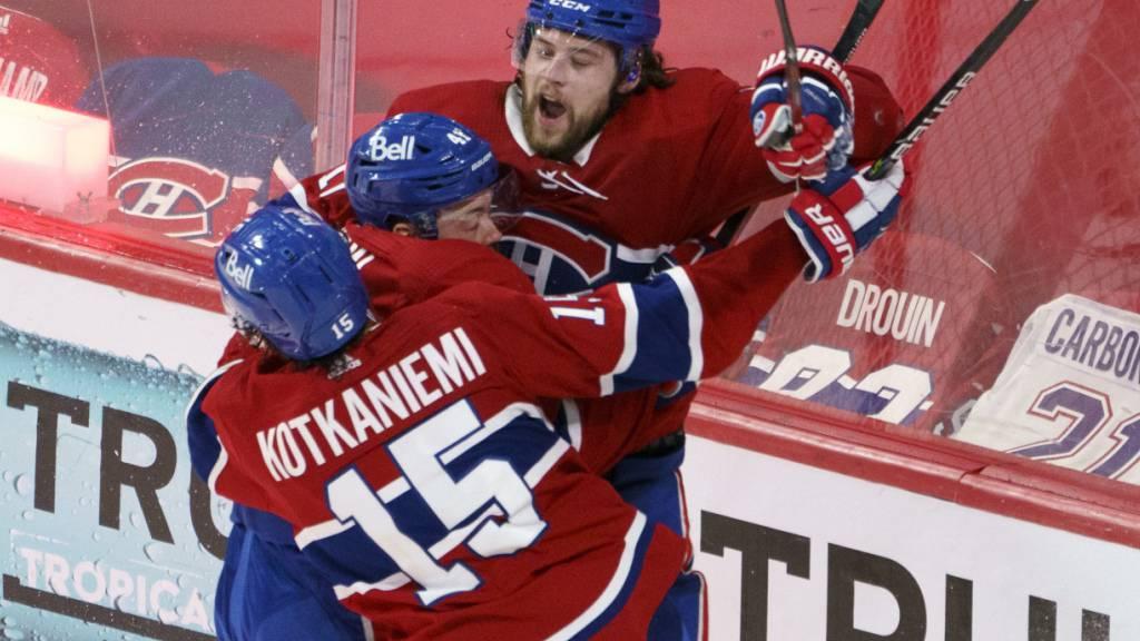 Zweiter Sieg und Führung in der Serie für die Canadiens