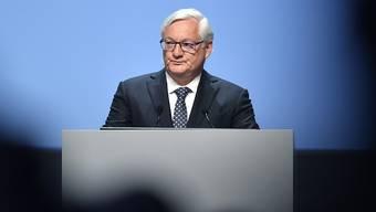 Bei ABB ist derzeit Präsident Peter Voser interimistisch auch operativ am Drücker. Der Industriekonzern ist derzeit stark mit seiner Neuausrichtung beschäftigt.  (Archivbild)