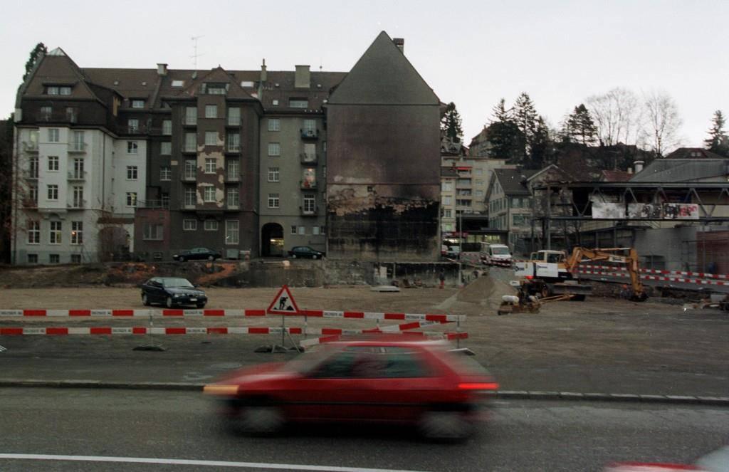 Galerie: Hier brennt die Halle 7 ab! (© Tagblatt)