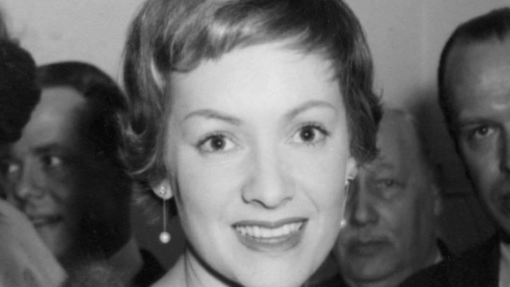 Ruth Leuwerik 1957 auf dem Höhepunkt ihrer Karriere. Am Dienstag ist die Schauspielerin mit 91 Jahren gestorben (Archiv).