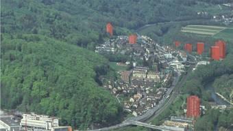 Hochhaus-Perimeter für Baden