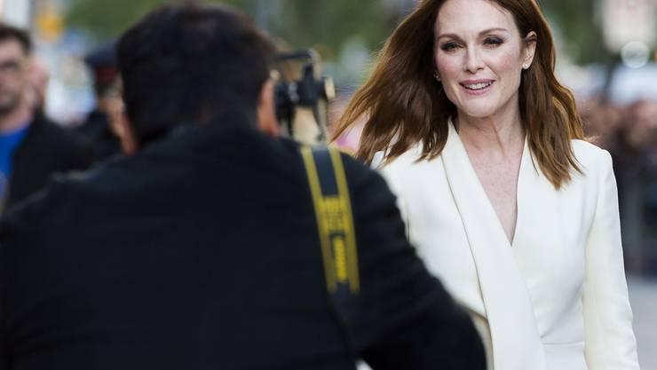 """Spielt die Hauptrolle im Remake des dänischen Erfolgsfilms """"Nach der Hochzeit"""": Julianne Moore. (Archivbild)"""