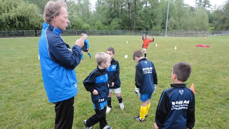 Für Lager-Organisator Beat Lutz ist die Arbeit mit den Kids längst zu einer Herzensangelegenheit geworden.