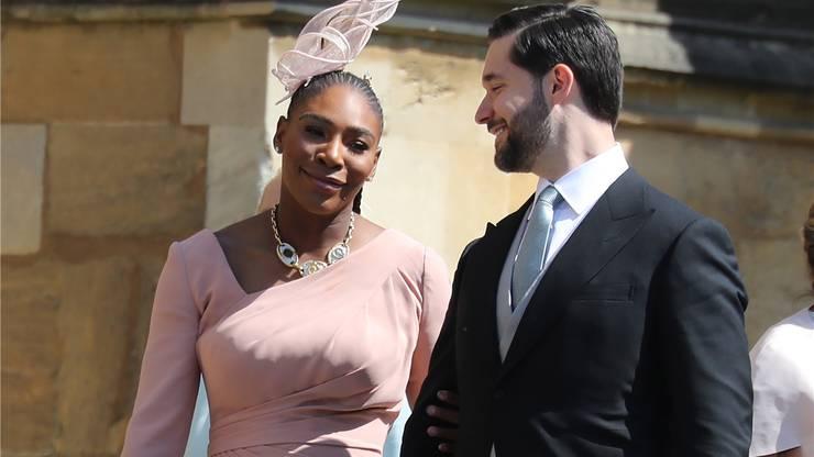 Tennis-Star Serena Williams und Ehemann Alexis Ohanian.