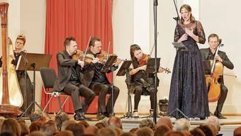 Das letzte Konzert, das in dieser Saison bisher noch stattgefunden hat: Regula Mühlemann mit den Chamber Artists.