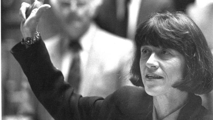 Vereidigung von Ruth Grossenbacher in den Nationalrat