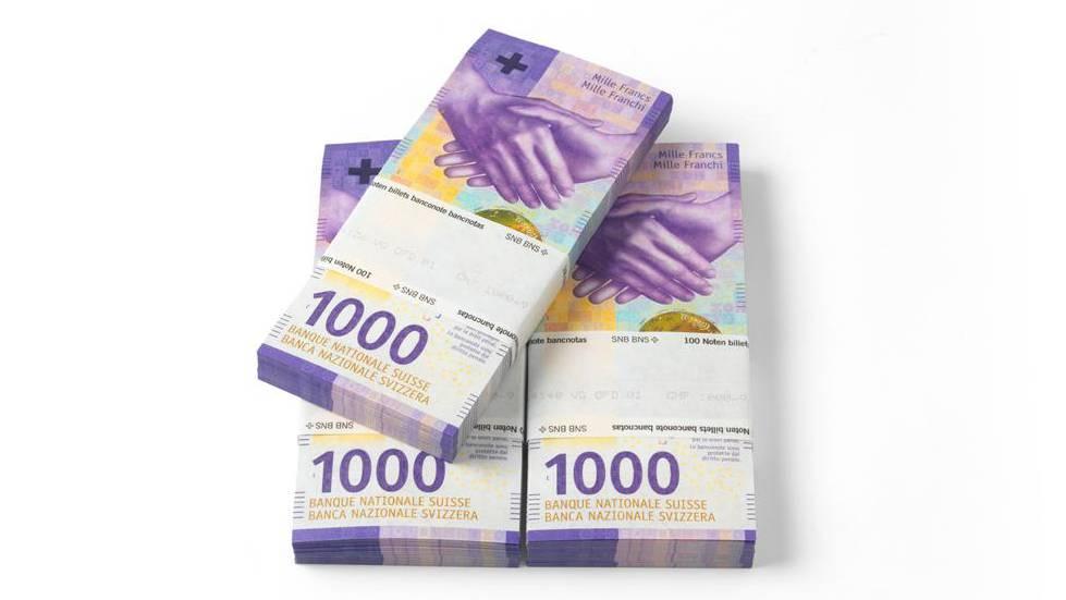 1000er Note SNB