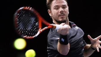 Stan Wawrinka schafft beim Masters-1000-Turnier in Paris-Bercy den Einzug in die Achtelfinals
