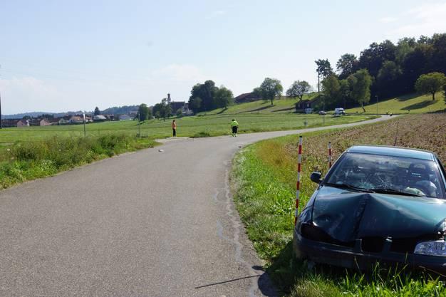 Hier ereignete sich der tödliche Unfall.