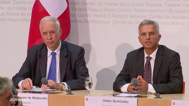 Spitzendiplomat für die Schweiz