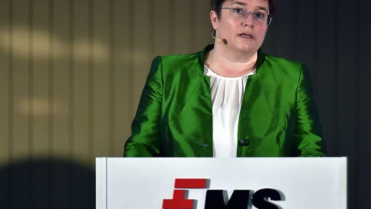Magdalena Martullo-Blocher ist die Chefin von EMS (Archivbild).