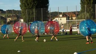 Bubble Soccer Schlieren