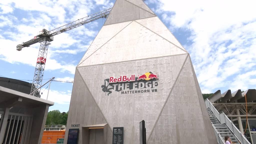Im Verkehrshaus kann man jetzt das Matterhorn erklimmen