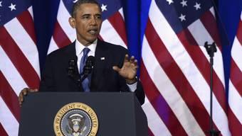 """US-Präsident Barack Obama: """"Wir können unsere Geheimdienste nicht einseitig entwaffnen."""""""
