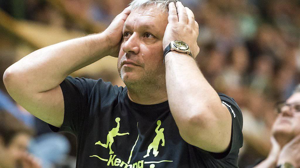 Die Zeit von Trainer Predrag Borkovic bei St. Otmar St. Gallen ist abgelaufen