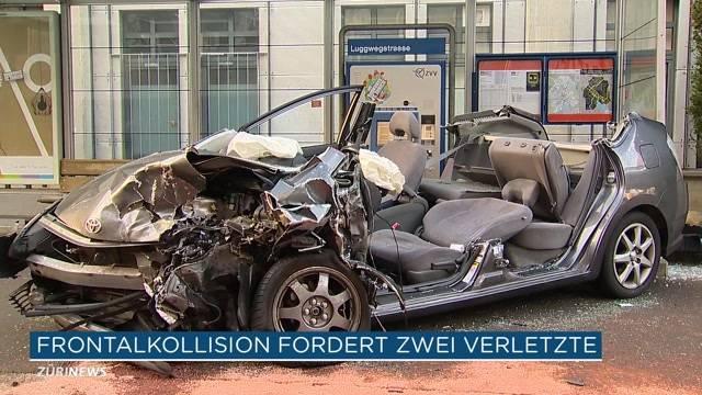 Frontalkollision an der Hohlstrasse