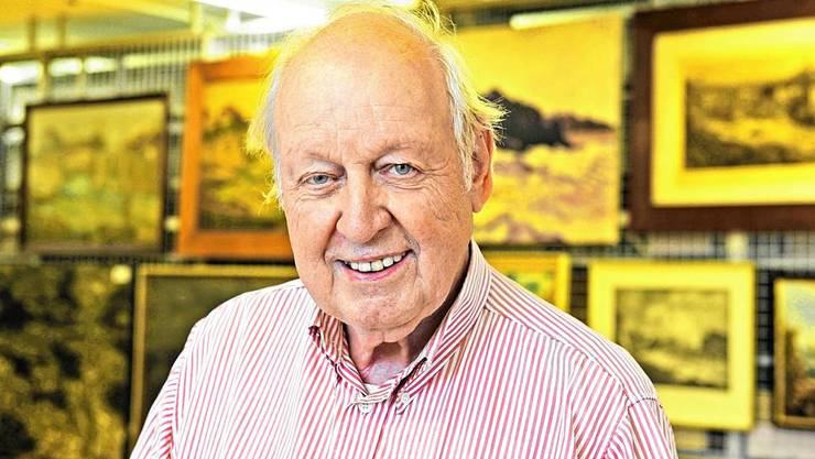 Wurde 85 Jahre alt: Martin Blümcke.