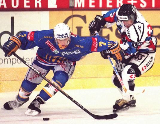 Seine Karriere lancierte Mark Streit zwischen 1996 und 1999 beim HC Davos.